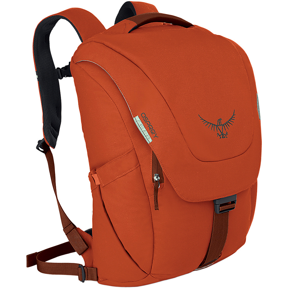 Osprey Mens FlapJack Backpack - 15 Burnt Orange - Osprey Business & Laptop Backpacks - Backpacks, Business & Laptop Backpacks