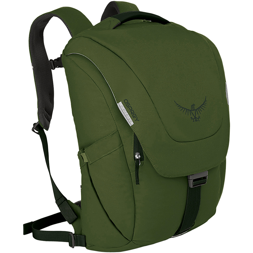 Osprey Mens FlapJack Backpack - 15 Peat Green - Osprey Business & Laptop Backpacks - Backpacks, Business & Laptop Backpacks