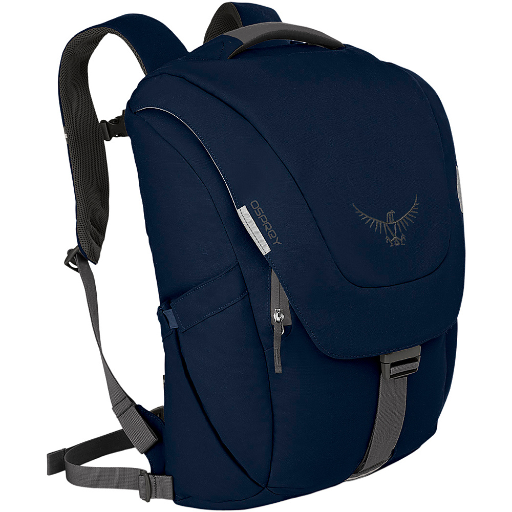 Osprey Mens FlapJack Backpack - 15 Twilight - Osprey Business & Laptop Backpacks - Backpacks, Business & Laptop Backpacks