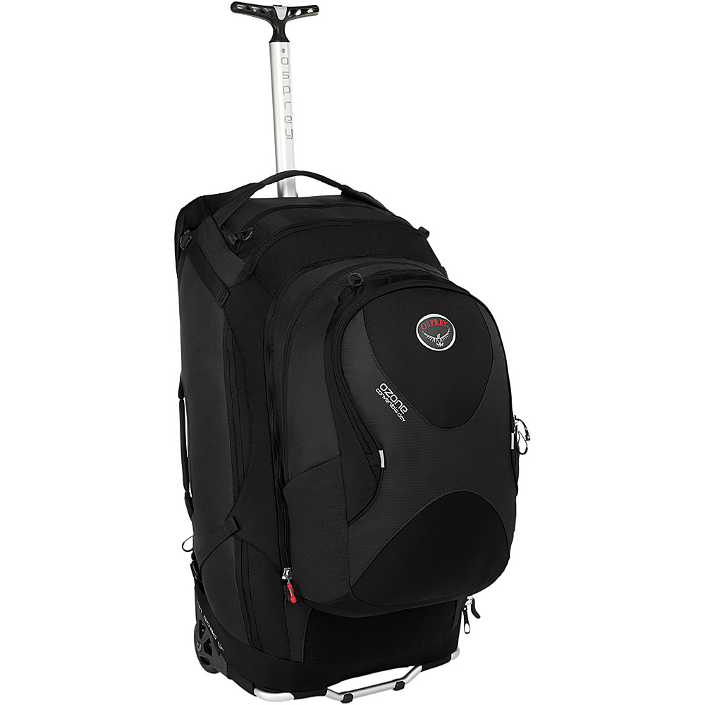 Osprey Ozone Convertible 28 inch/75L Black- DISCONTINUED - Osprey Softside Checked - Luggage, Softside Checked
