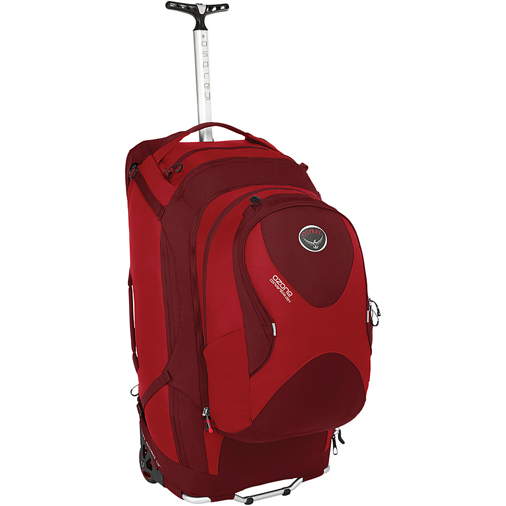 Osprey Ozone Convertible 28 inch/75L Hoodoo Red- DISCONTINUED - Osprey Softside Checked - Luggage, Softside Checked