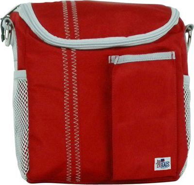 SailorBags Lunch Bag Red/Grey - SailorBags Travel Coolers