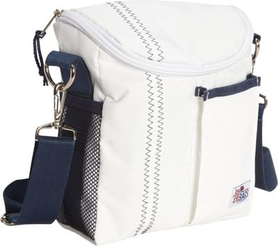 SailorBags Lunch Bag White/Blue - SailorBags Travel Coolers