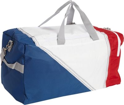 SailorBags TriSail Duffel TriColor - Red/White/Blue - SailorBags Travel Duffels