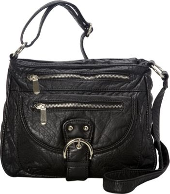 Ampere Creations The Lorie Crossbody Black - Ampere Creations Manmade Handbags