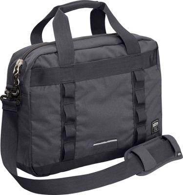 STM Goods Bowery Medium Shoulder Bag Charcoal - STM Goods Messenger Bags