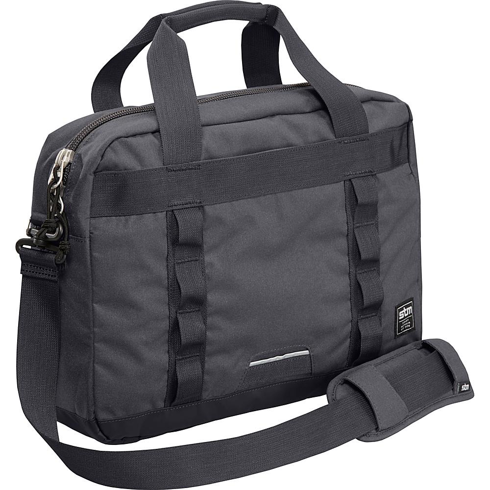 STM Bags Bowery Medium Shoulder Bag Charcoal STM Bags Messenger Bags