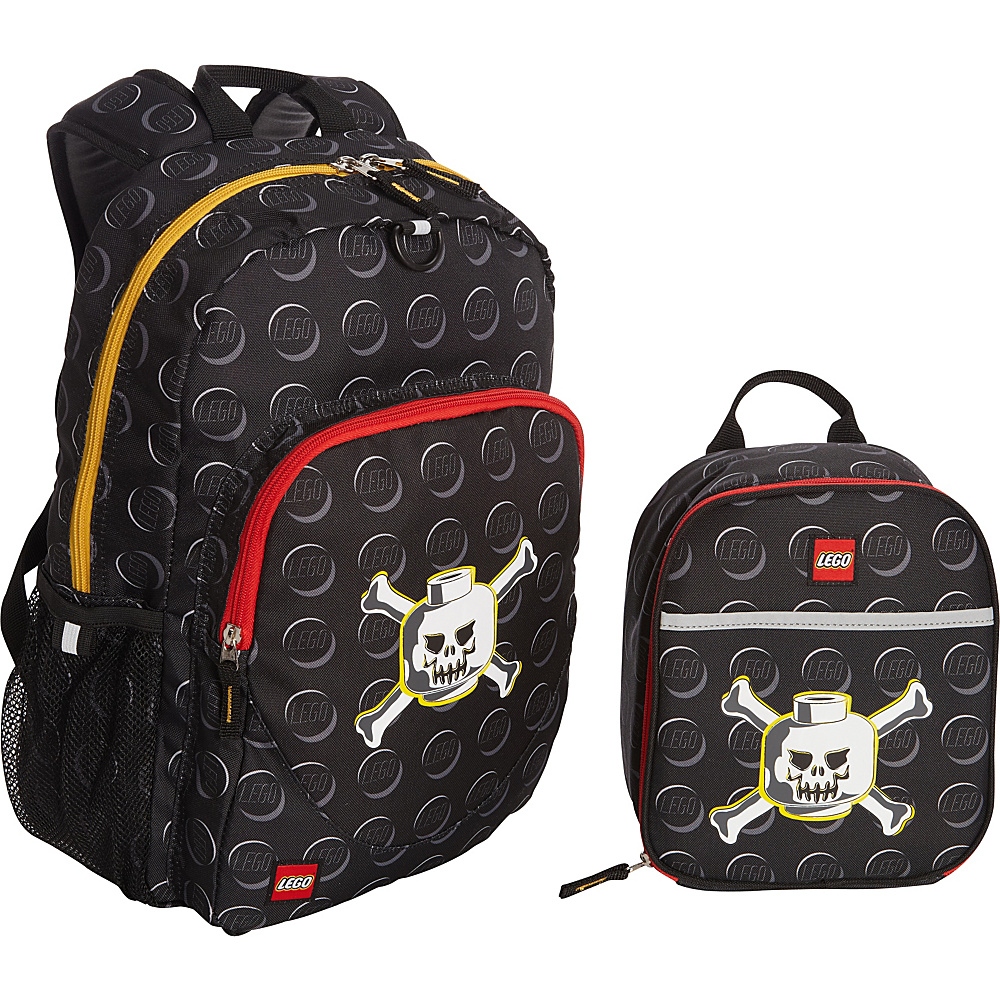 LEGO Skeleton Backpack Skeleton Lunch Bag Black LEGO Everyday Backpacks