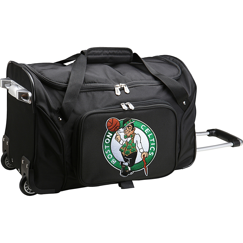 Denco Sports Luggage NBA 22 Rolling Duffel Boston Celtics - Denco Sports Luggage Rolling Duffels - Luggage, Rolling Duffels