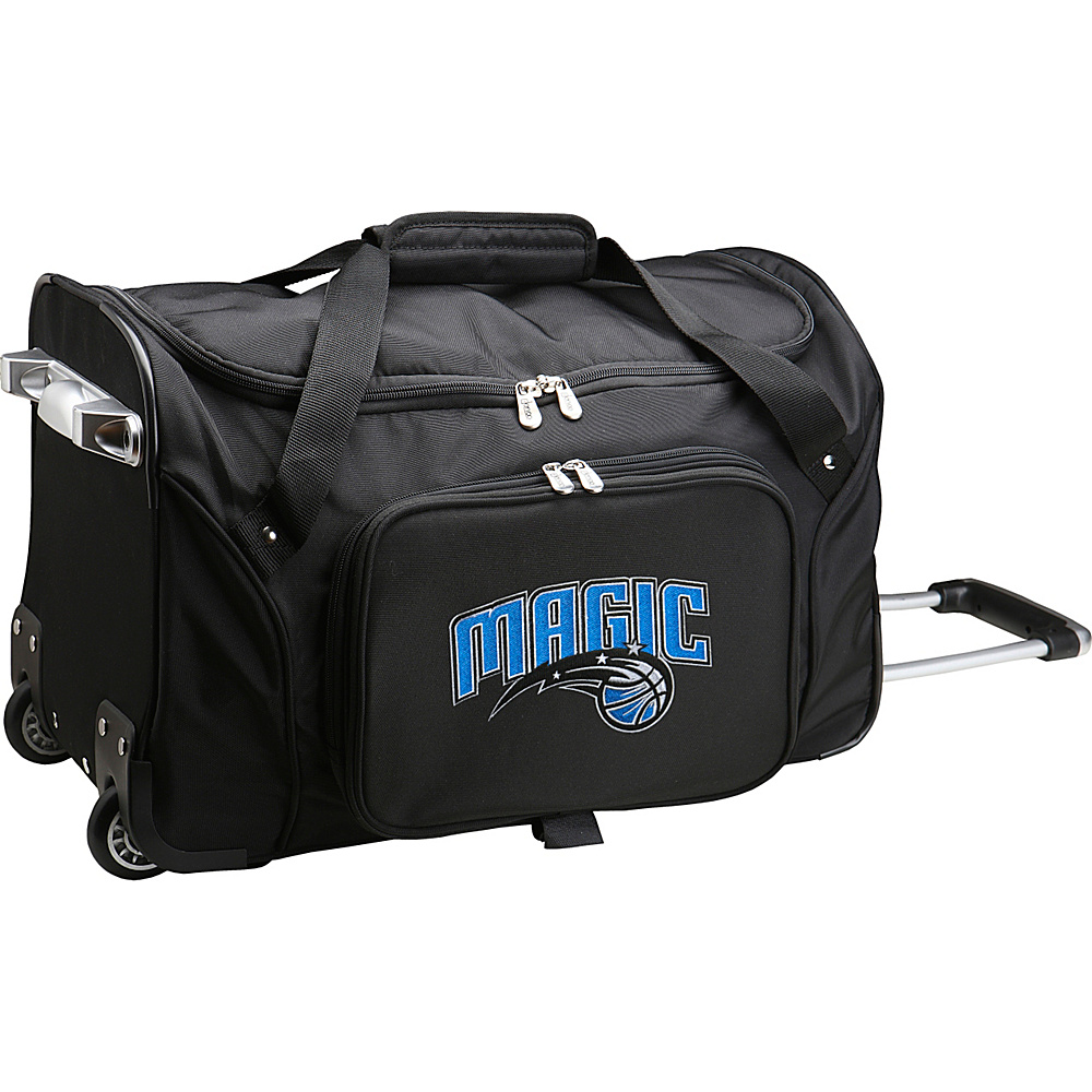 Denco Sports Luggage NBA 22 Rolling Duffel Orlando Magic - Denco Sports Luggage Rolling Duffels - Luggage, Rolling Duffels