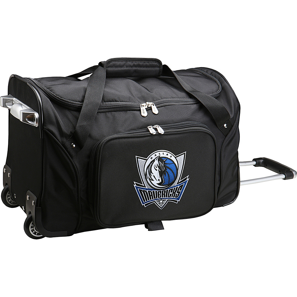 Denco Sports Luggage NBA 22 Rolling Duffel Dallas Mavericks - Denco Sports Luggage Rolling Duffels - Luggage, Rolling Duffels