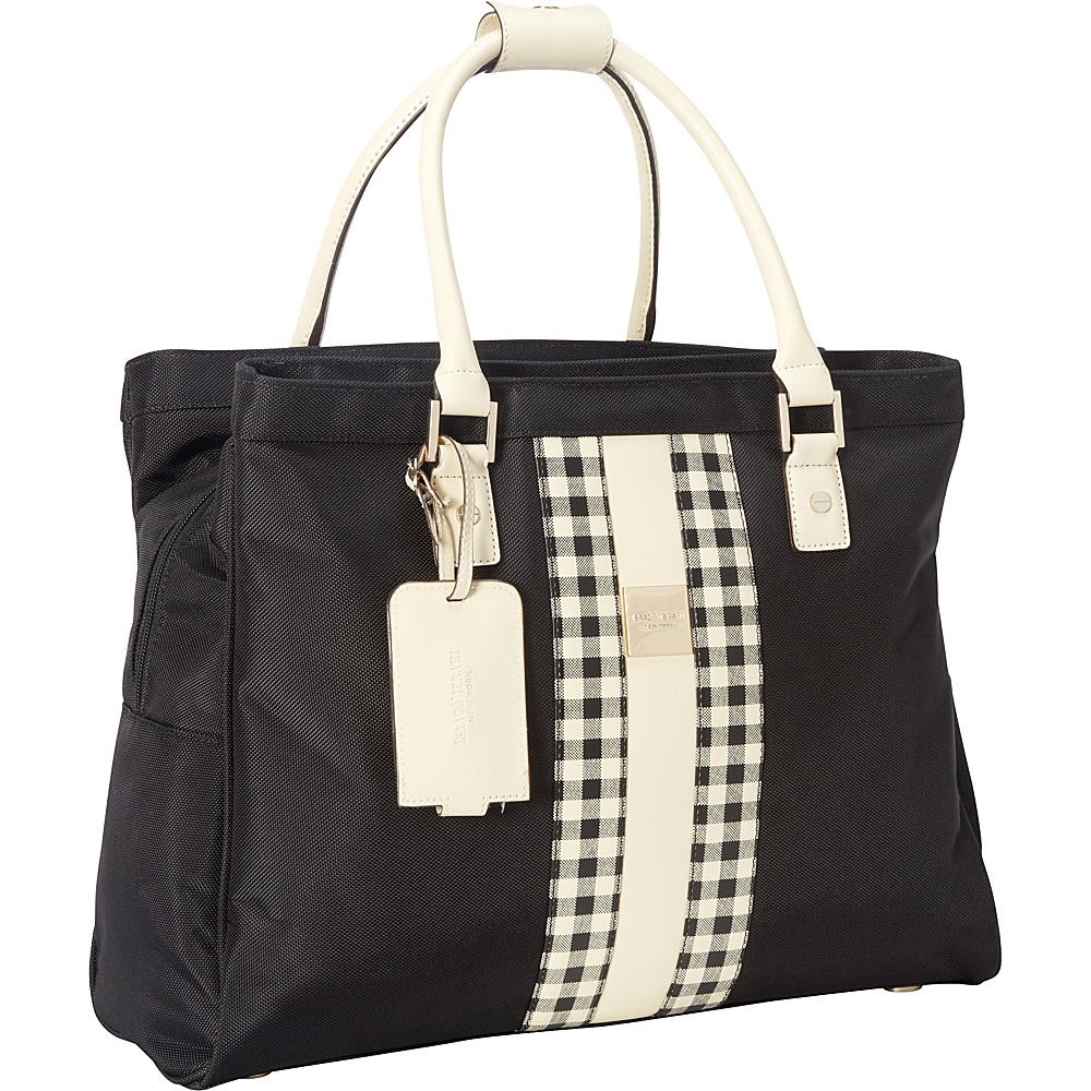 Isaac Mizrahi Luggage Baird Collection Deluxe Shopper Tote Midnight - Isaac Mizrahi Luggage Luggage Totes and Satchels