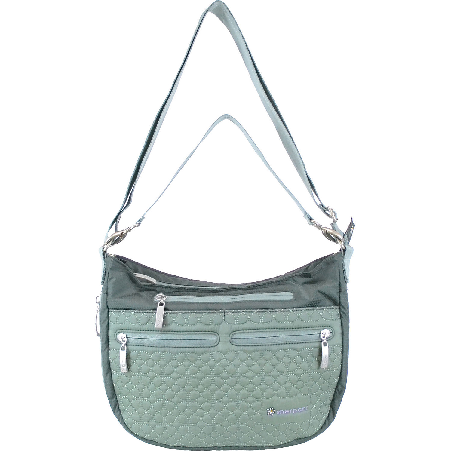 These Sherpani women's handbags and purses are outfitted with an array of features that include adjustable straps, magnetic snaps, and a variety of outer pockets. These handbags can be selected in several different size options that include very small, small, medium, large, and extra large. How do you choose the right Sherpani bag for you?