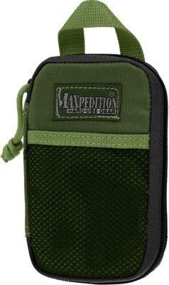 Maxpedition Micro Pocket Organizer Green - Maxpedition Travel Organizers