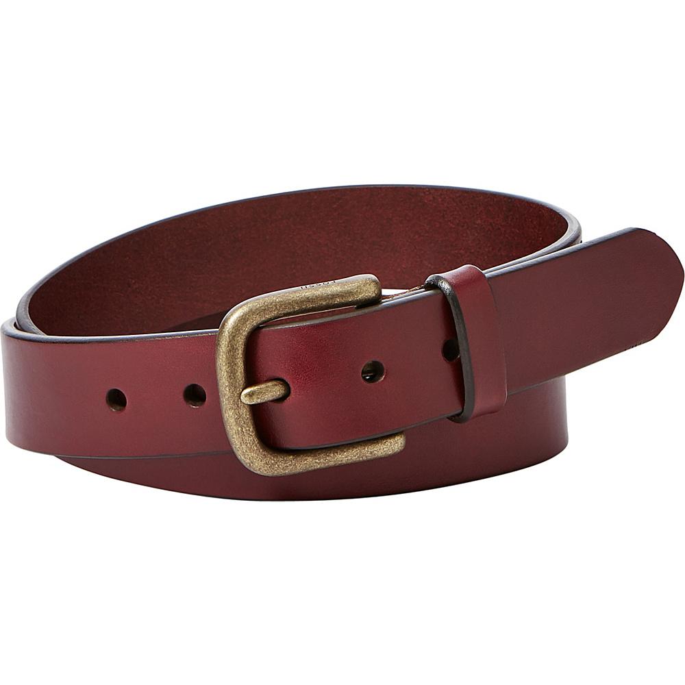 Fossil Saddle Series Belt 34 - Cardovan - Fossil Belts - Fashion Accessories, Belts
