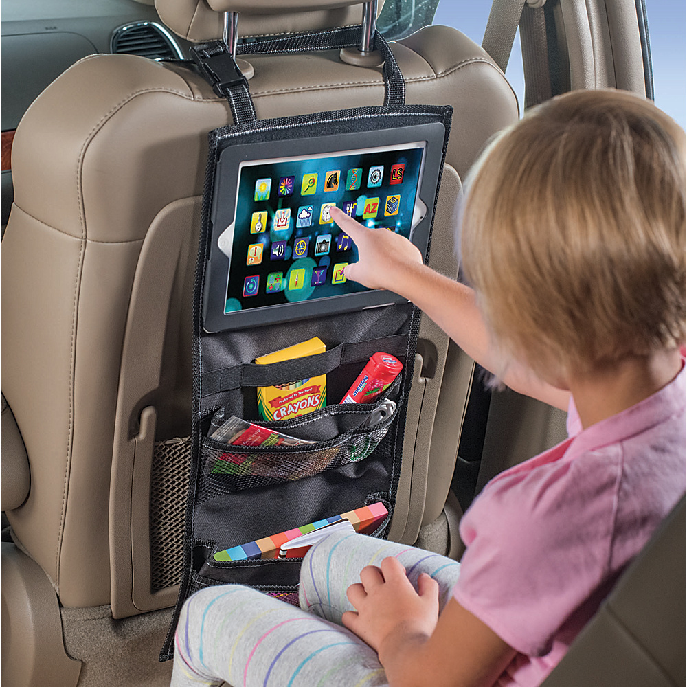 High Road PadPockets iPad Holder Car Seat Organizer Black High Road Trunk and Transport Organization