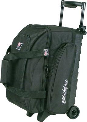 KR Strikeforce Bowling Eliminator Double Roller Bag Black - KR Strikeforce Bowling Bowling Bags