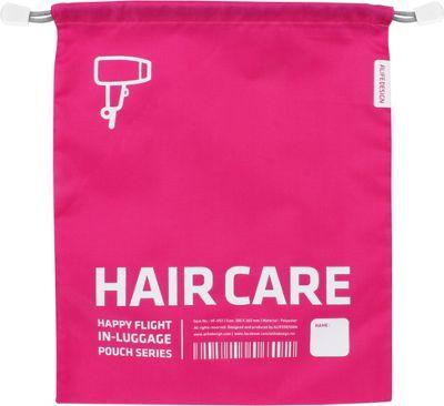 ALIFE DESIGN Alife Design Luggage Hair Pouch Pink - ALIFE DESIGN Travel Organizers