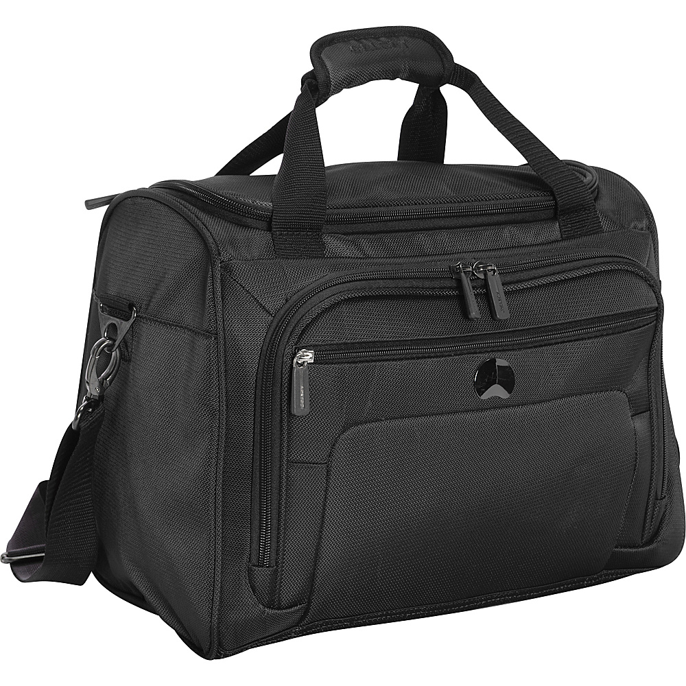 Delsey Helium Sky 2.0 Personal Tote Black Delsey Luggage Totes and Satchels