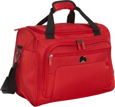 Delsey Helium Sky 2.0 Personal Tote Red - Delsey Luggage Totes and Satchels