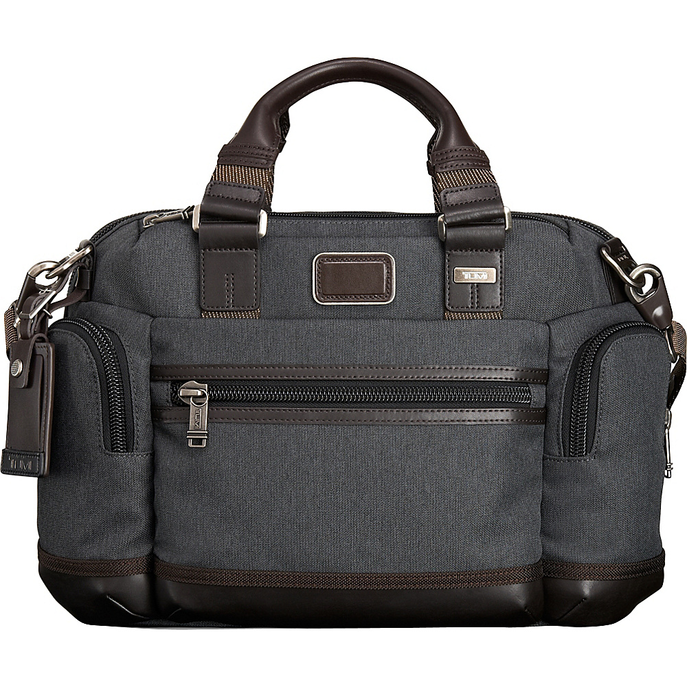 Tumi Alpha Bravo Brooks Slim Brief Anthracite Tumi Non Wheeled Business Cases