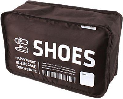 ALIFE DESIGN Alife Design Shoes Packing Cubes Organizers Brown - ALIFE DESIGN Travel Organizers
