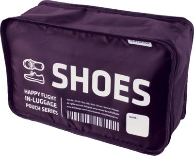 ALIFE DESIGN Alife Design Shoes Packing Cubes Organizers Purple - ALIFE DESIGN Travel Organizers