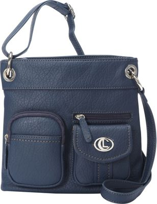 Image of Aurielle-Carryland Bernina Cross Body Navy - Aurielle-Carryland Manmade Handbags