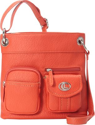Image of Aurielle-Carryland Bernina Cross Body Poppy - Aurielle-Carryland Manmade Handbags