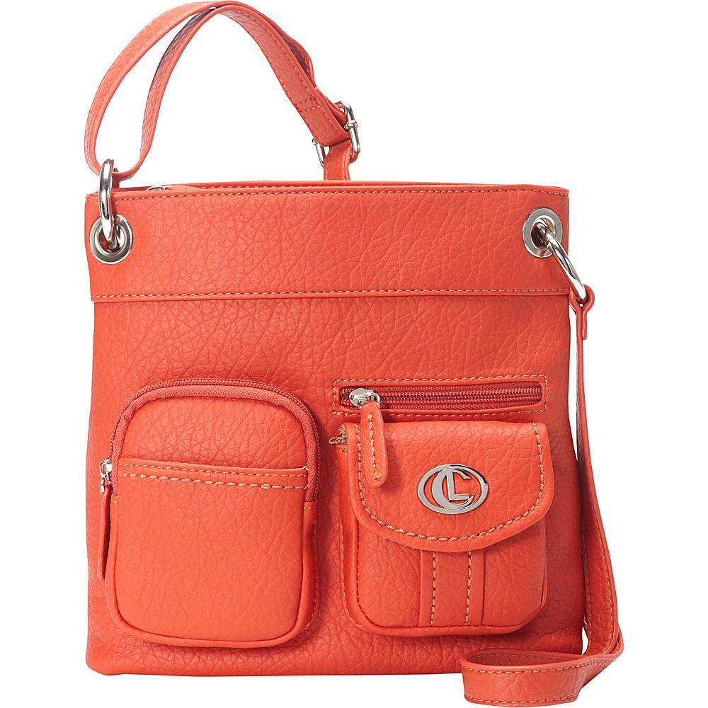 Aurielle Carryland Bernina Cross Body Poppy Aurielle Carryland Manmade Handbags