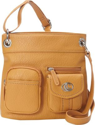 Image of Aurielle-Carryland Bernina Cross Body Tan - Aurielle-Carryland Manmade Handbags