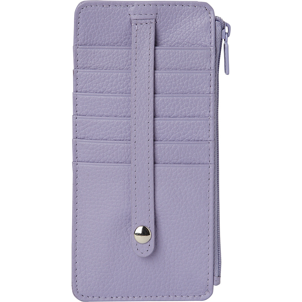 Buxton Hudson Pik-Me-Up Thin Card Holder - Exclusive Colors Wisteria - Buxton Womens Wallets - Women's SLG, Women's Wallets
