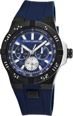 Vince Camuto Watches The Master Watch Navy/Titanium/Navy - Vince Camuto Watches Watches