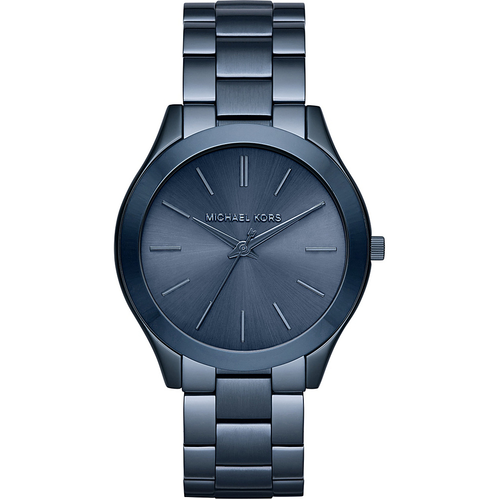 Michael Kors Watches Slim Runway Watch Blue Michael Kors Watches Watches