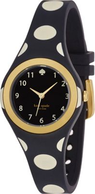 kate spade watches Rumsey Dot Watch Black - kate spade watches Watches