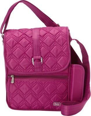Lug Moped Shoulder Bag Orchid Pink - Lug Fabric Handbags