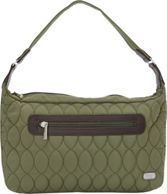 Lug Trotter Shoulder Bag Fern Green - Lug Fabric Handbags
