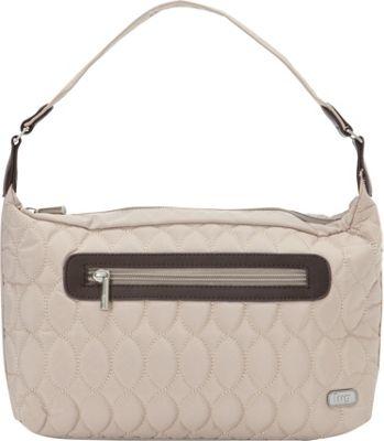 Lug Trotter Shoulder Bag Sand Taupe - Lug Fabric Handbags