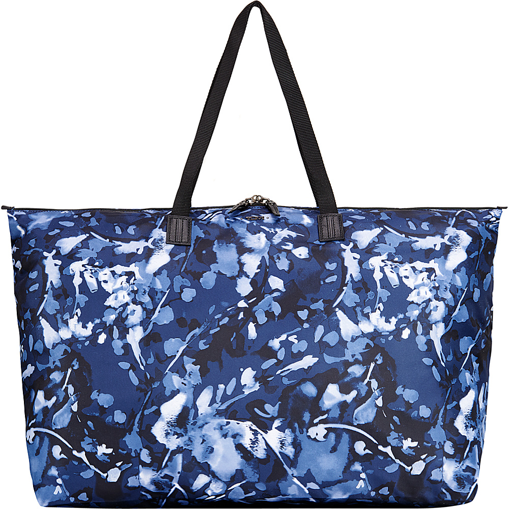 Tumi Voyageur Just in Case Travel Duffel Indigo Floral - Tumi Luggage Totes and Satchels