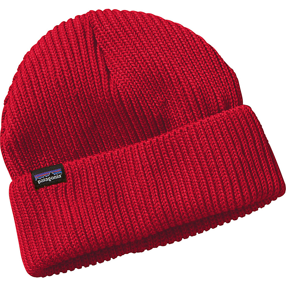 Patagonia Fishermans Rolled Beanie One Size - French Red - Patagonia Hats/Gloves/Scarves - Fashion Accessories, Hats/Gloves/Scarves