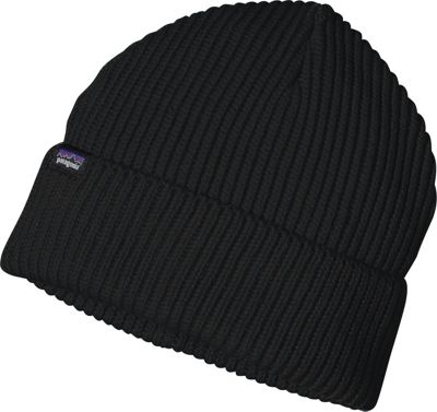 Patagonia Fishermans Rolled Beanie One Size - Black - Patagonia Hats/Gloves/Scarves