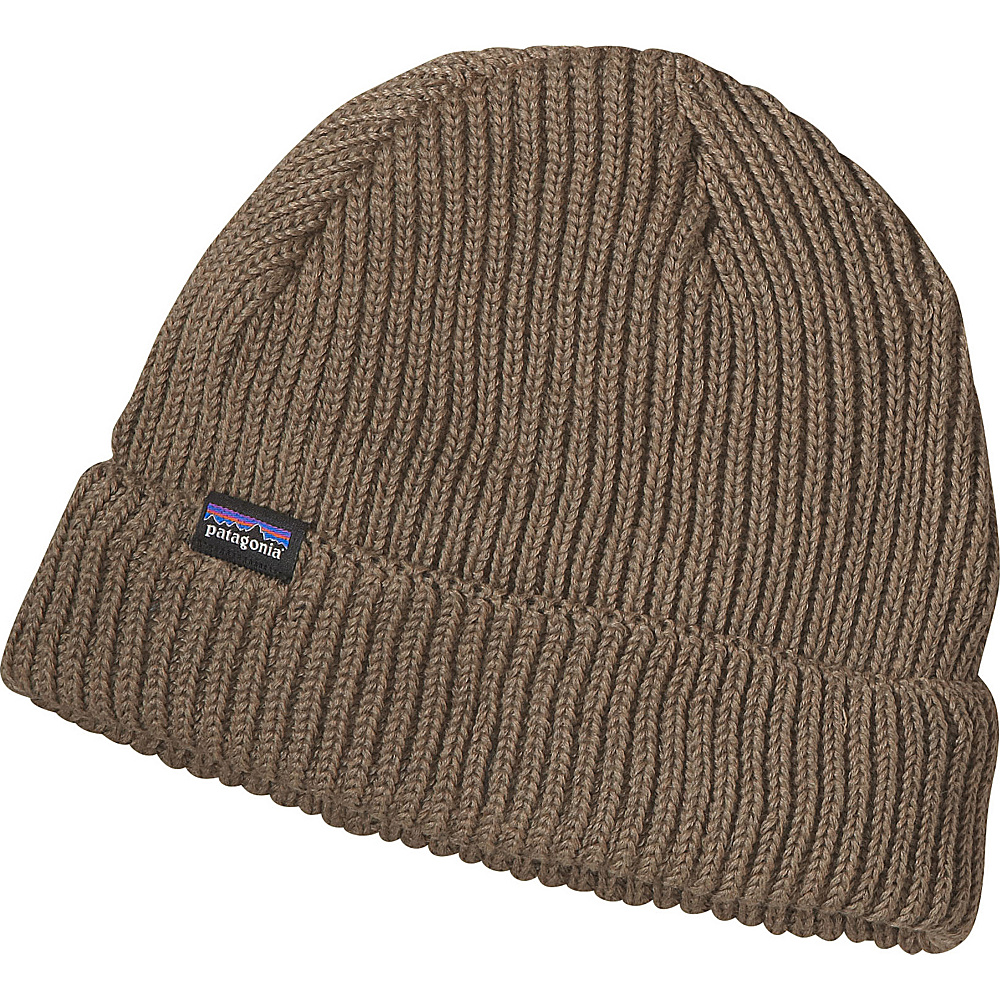 Patagonia Fishermans Rolled Beanie One Size - Ash Tan - Patagonia Hats/Gloves/Scarves - Fashion Accessories, Hats/Gloves/Scarves