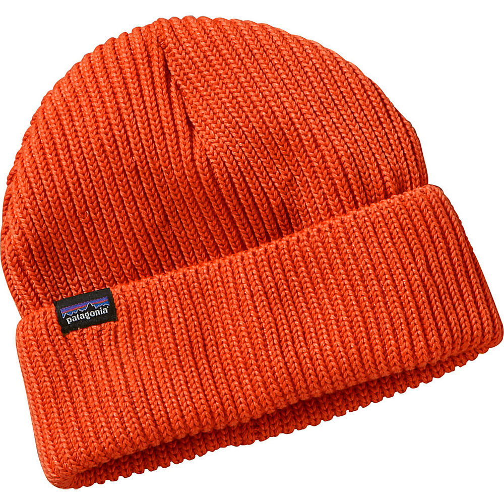 Patagonia Fishermans Rolled Beanie One Size - Cusco Orange - Patagonia Hats/Gloves/Scarves - Fashion Accessories, Hats/Gloves/Scarves