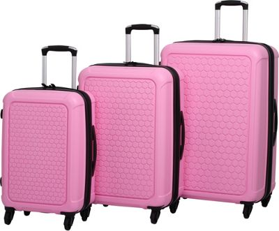 EAN 5055816380650 - IT Luggage Honeycomb Polypropylene 3 Piece Set ...