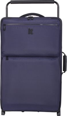 it luggage Worlds Lightest Los Angeles 2 Wheel 29.3 inch Upright Navy/Blue 2 Tone - it luggage Softside Checked