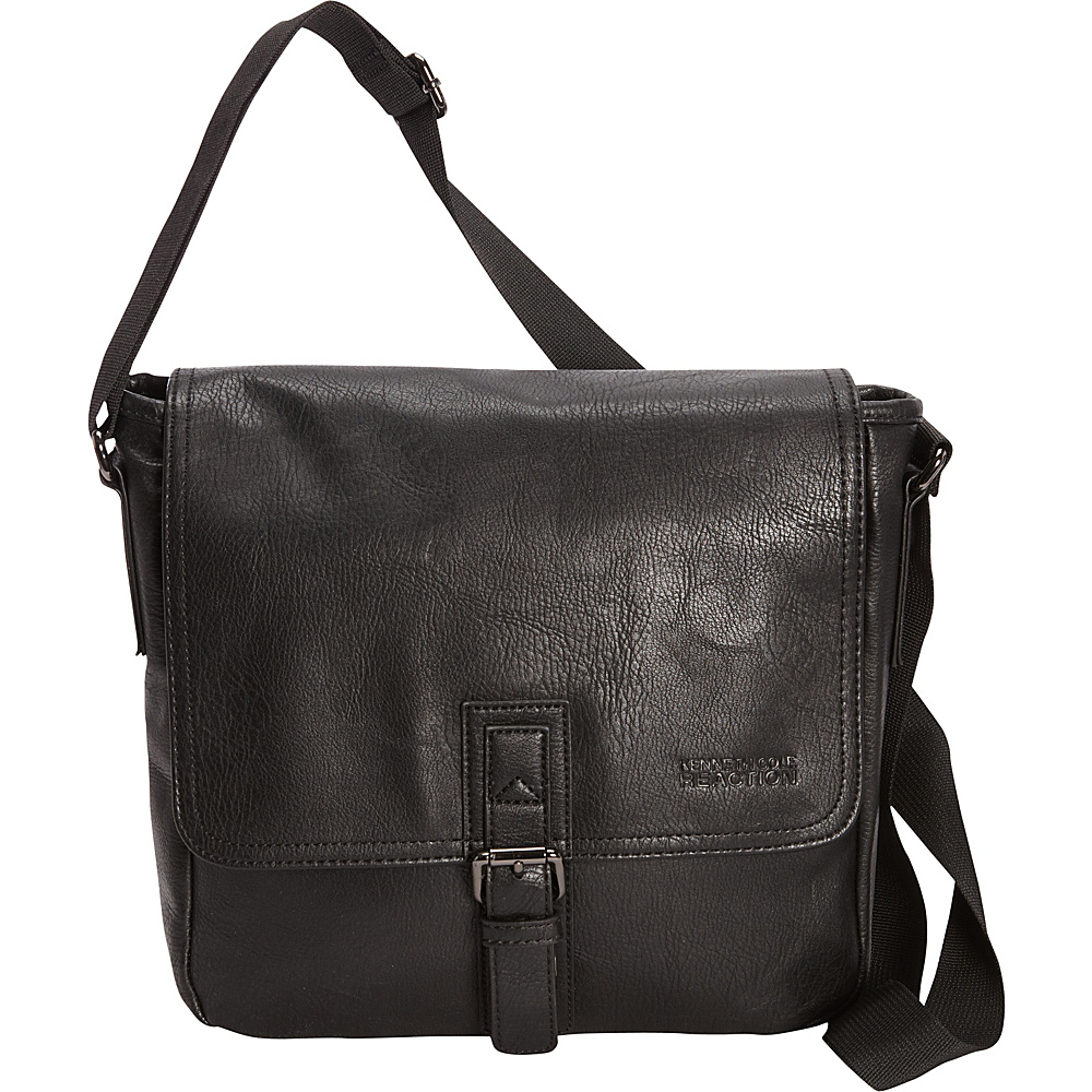 Kenneth Cole Reaction Quite A Dilemma 15 Messenger Bag Black Kenneth Cole Reaction Messenger Bags