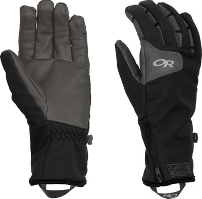 Outdoor Research Stormtracker Gloves  Womens Black/Charcoal – LG - Outdoor Research Gloves