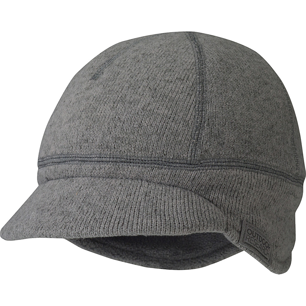 Outdoor Research Longhouse Cap  Kids M/L - Pewter - Outdoor Research Hats/Gloves/Scarves - Fashion Accessories, Hats/Gloves/Scarves