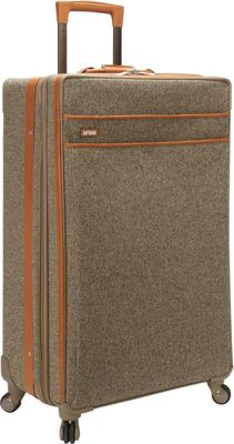 Hartmann Luggage Tweed Collection 30 inch Long Journey Expandable Spinner Tweed - Hartmann Luggage Softside Checked