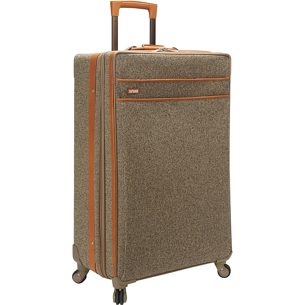 "Hartmann Luggage Tweed Collection 30"" Long Journey Expandable Spinner Tweed - Hartmann Luggage Softside Checked"
